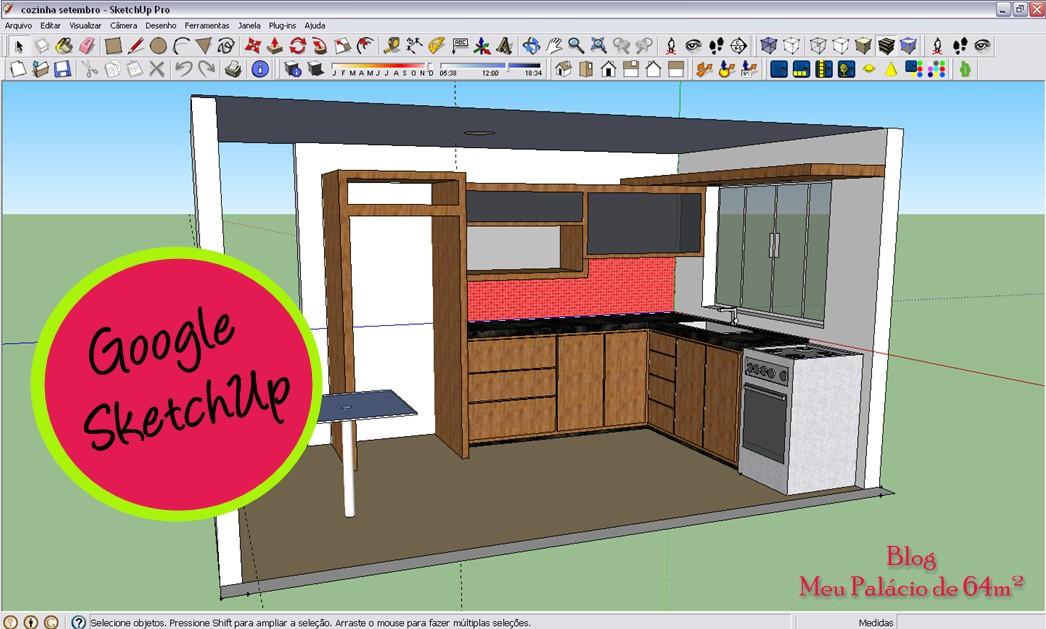 Meu pal cio de 64m 5 ferramentas para planejar seu espa o for Casa moderna sketchup download