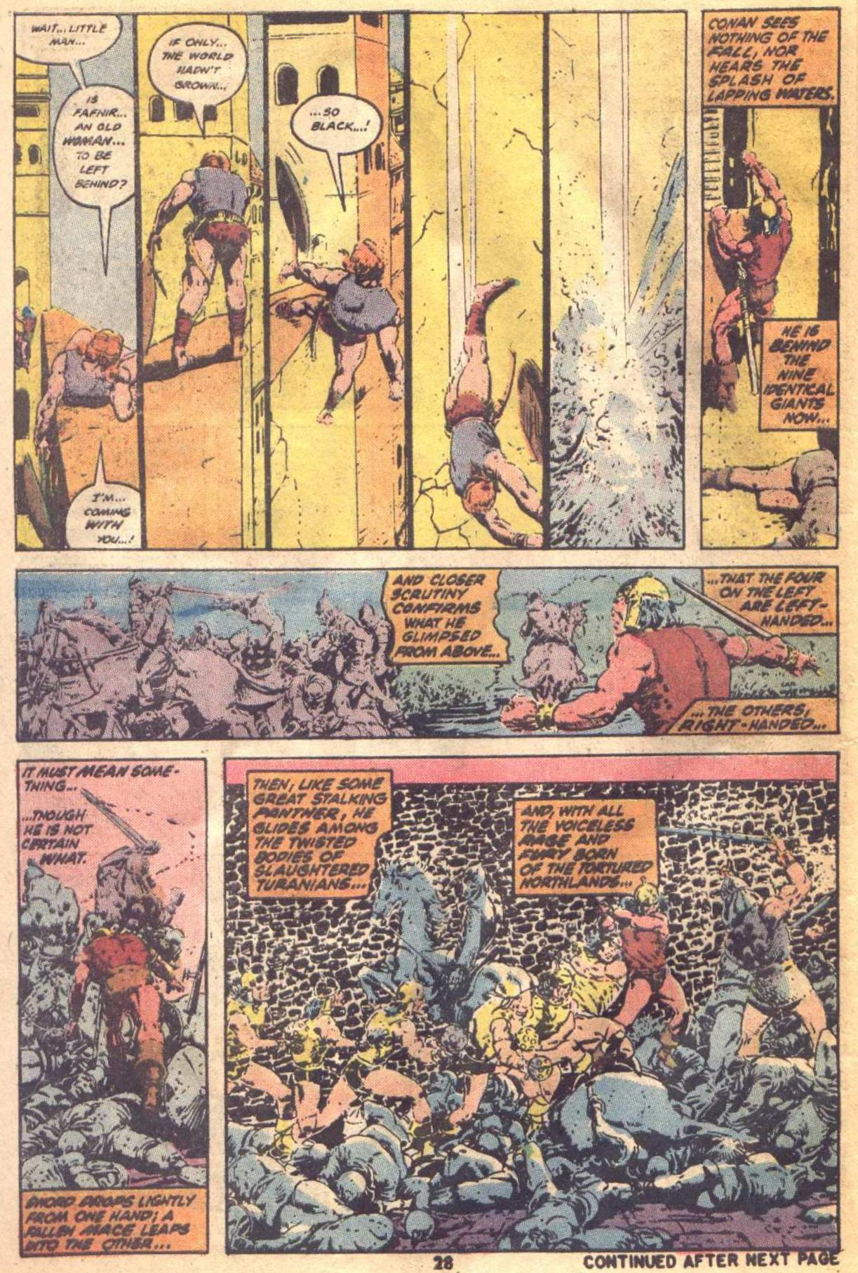 Conan the Barbarian (1970) Issue #19 #31 - English 21