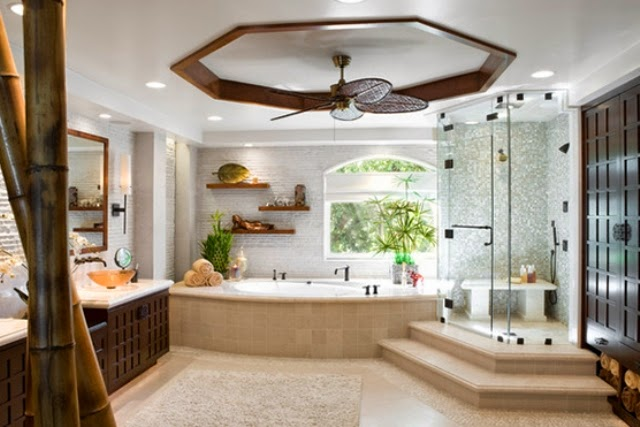 Trends in asian themed bathroom accessories nice bathrooms - Oriental bathroom decor ...
