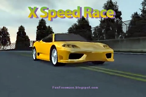 X Speed Race Free Driving Game Screenshot Image