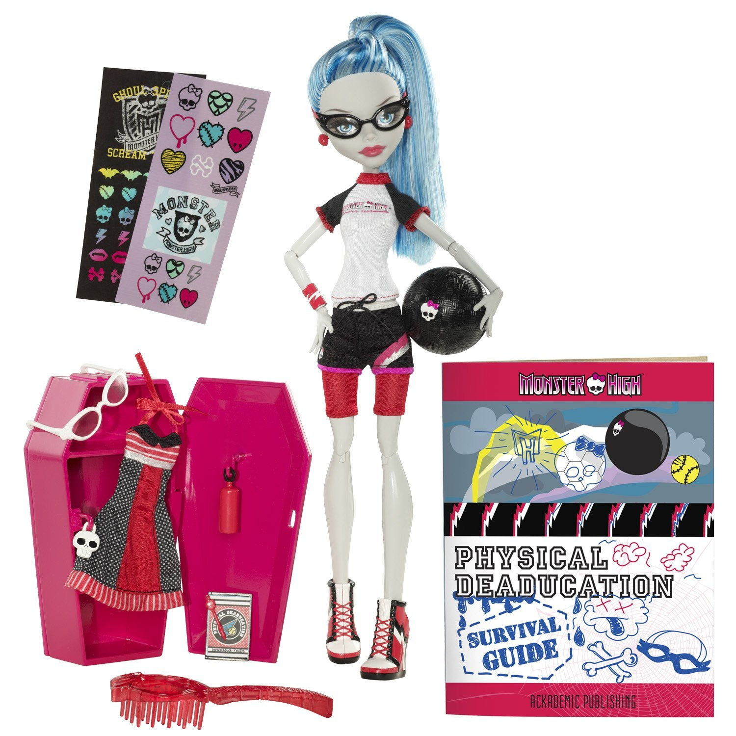 Monster High Pretty Monster High Vuelta Al Cole Ghoulia