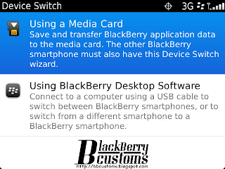 Device Switch BlackBerry