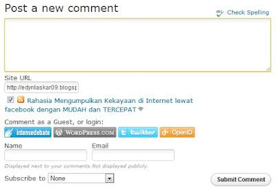 Cara Memasang CommentLuv Pada Blog