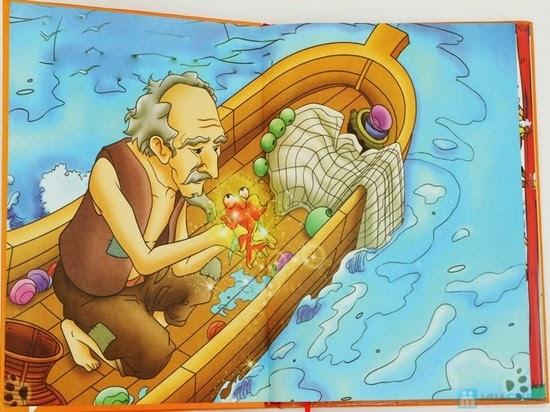 truyện cổ tích andersen đứa con vàng