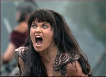 Lucy Lawless Linked To EX3Xena Warrior Princess Angry