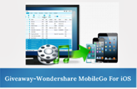 Giveaway #1 - Wondershare MobileGo For iOS
