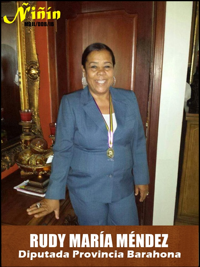 RUDY MARIA MENDEZ DIPUTADA DE BARAHONA 2020-2024