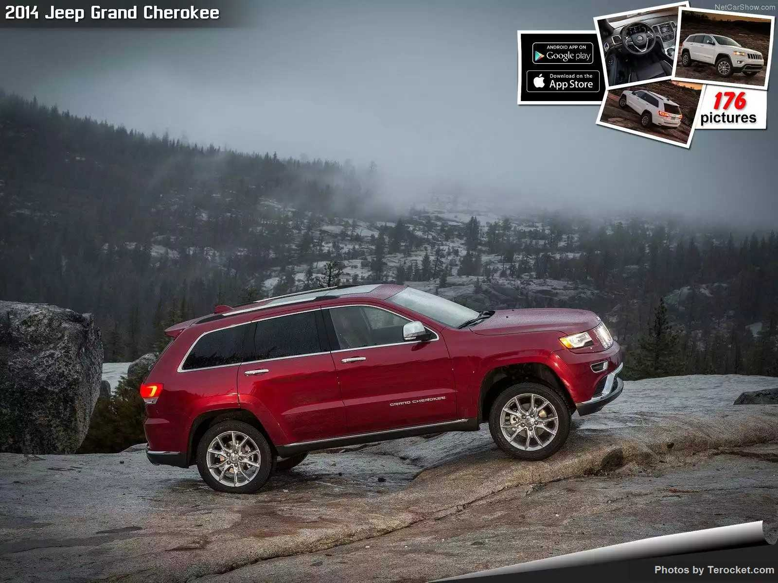 Hình ảnh xe ô tô Jeep Grand Cherokee 2014 & nội ngoại thất