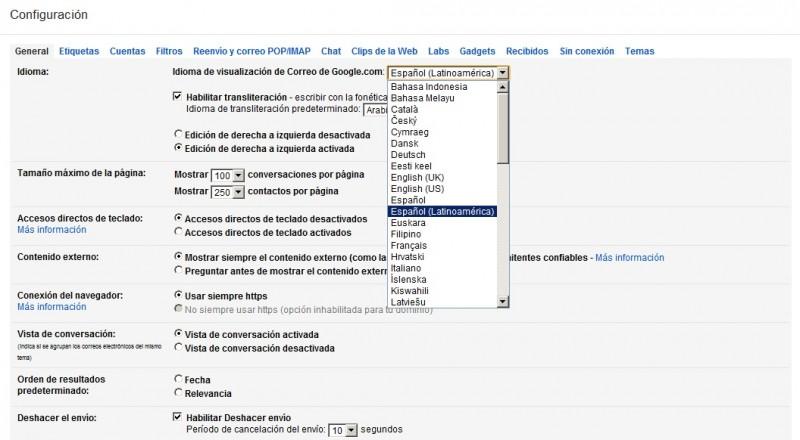 espanol latinoamerica: