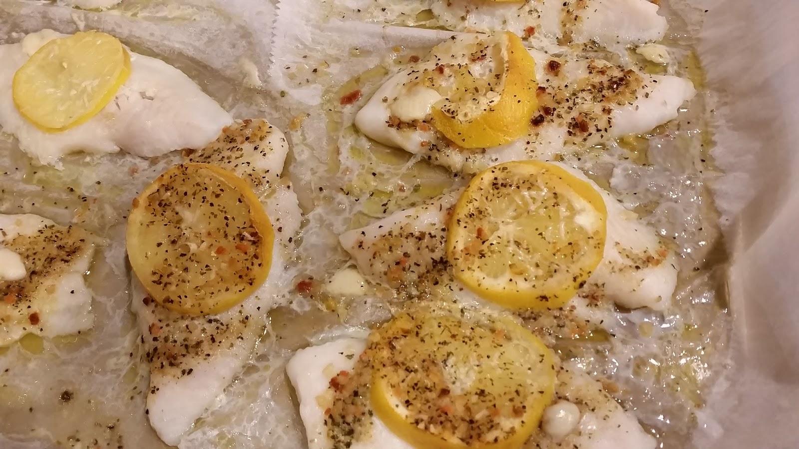 Pantry eats baked lemon swai fish for How to bake swai fish