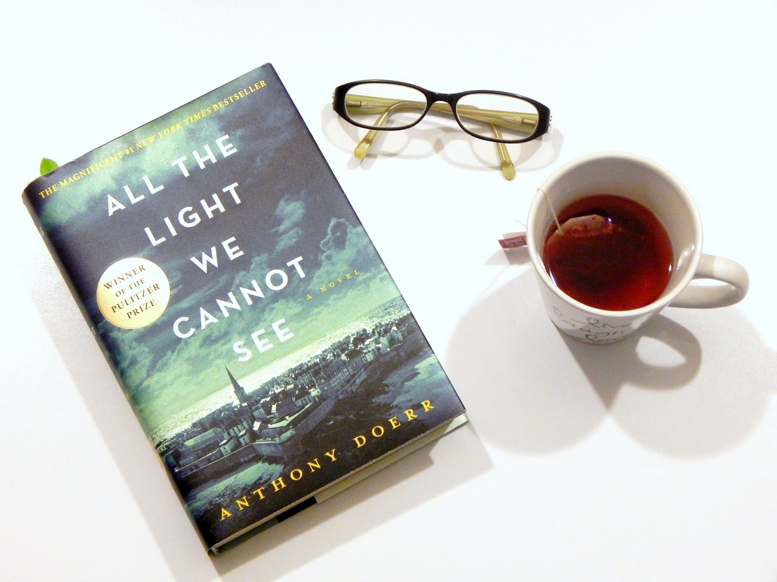 Currently Reading: All The Light We Cannot See By Anthony Doerr