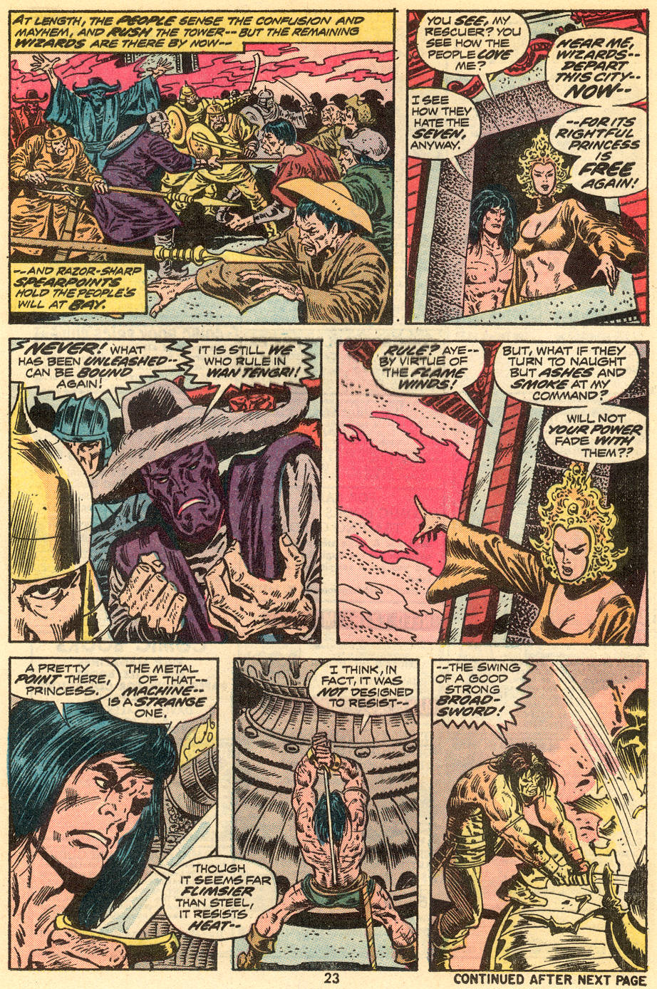 Conan the Barbarian (1970) Issue #34 #46 - English 15