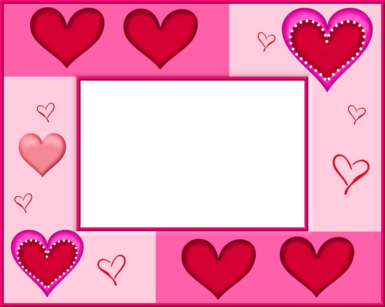 Colecci n de gifs marcos para fotos de corazones - Marco 4 fotos ...