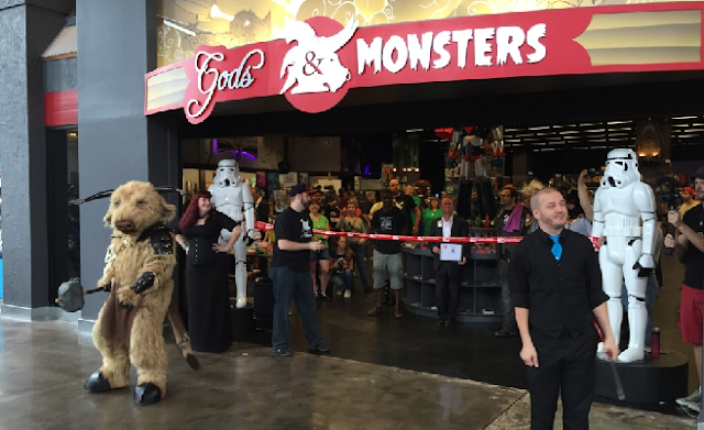 Loja Gods and Monsters em Orlando