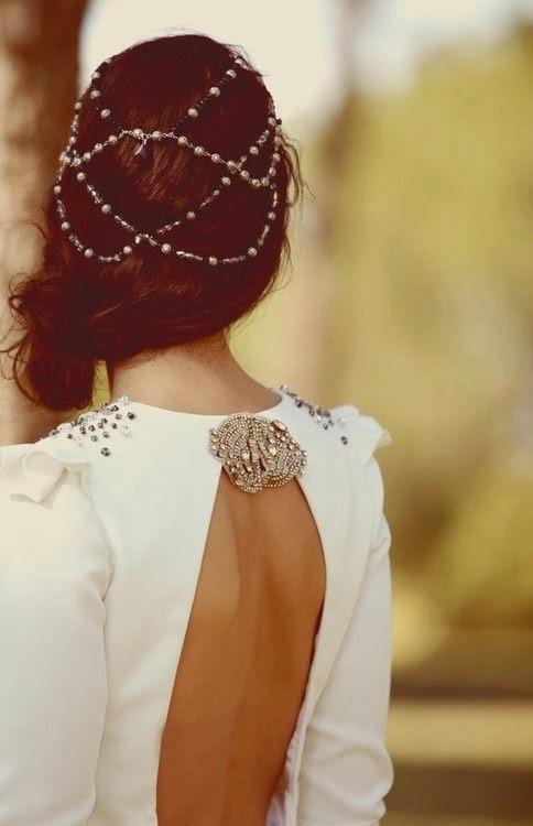 cadenas para el pelo