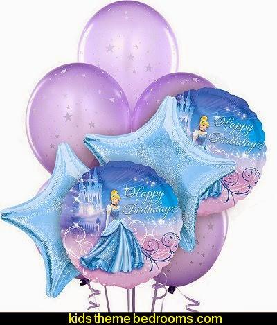 Disney Cinderella Balloon Bouquet