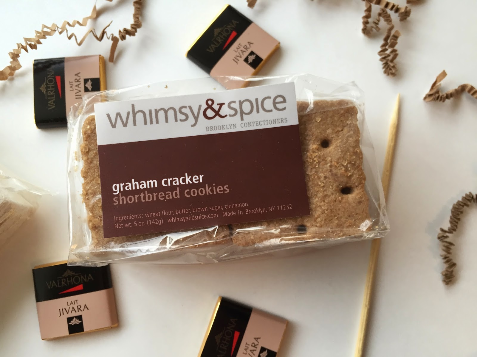 whimsy and spice smores kit graham crackers