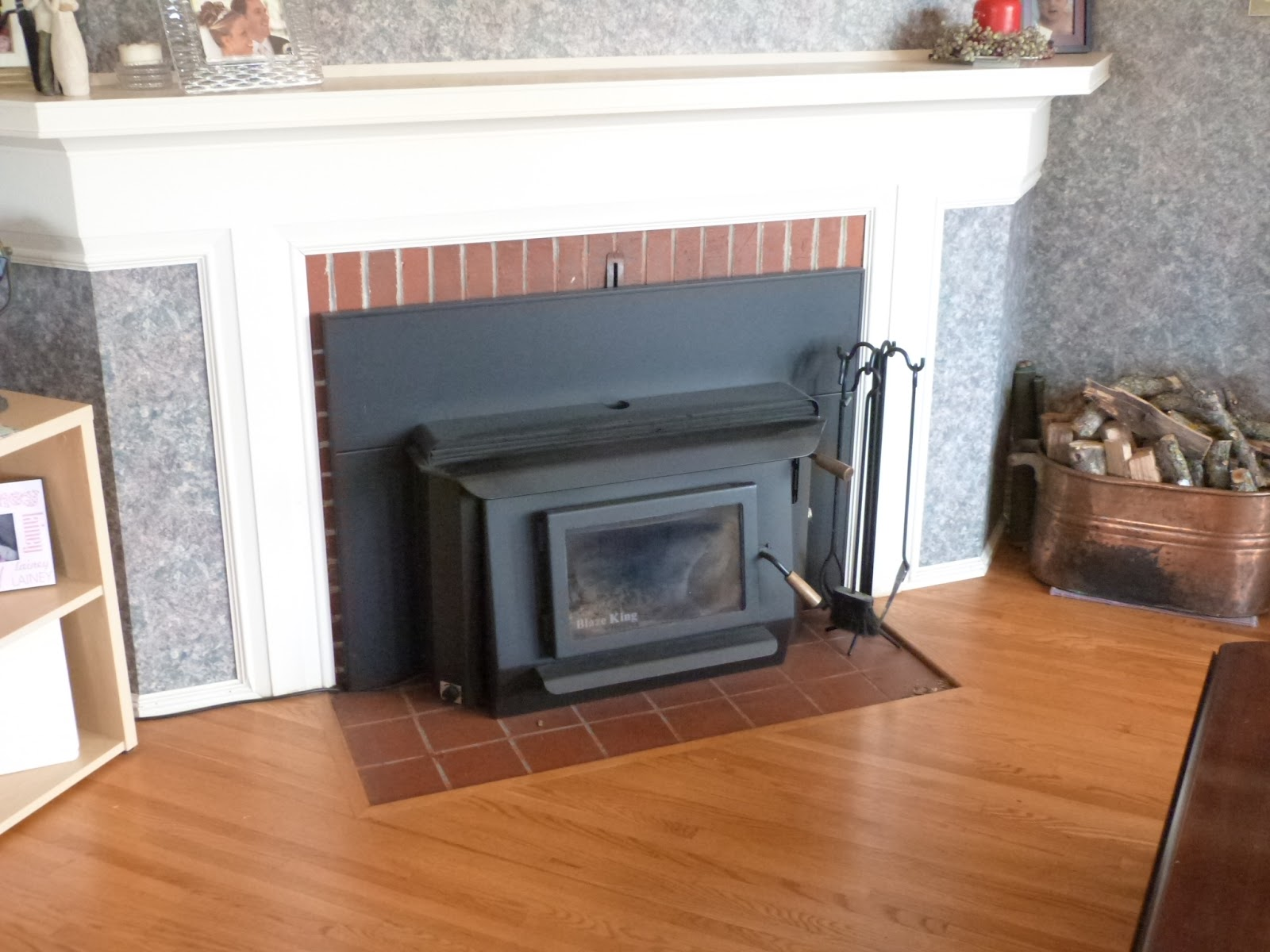 blaze king fireplace inserts. Blyberg Home For Sale  Blaze King Princess PI1010A first fire of the year