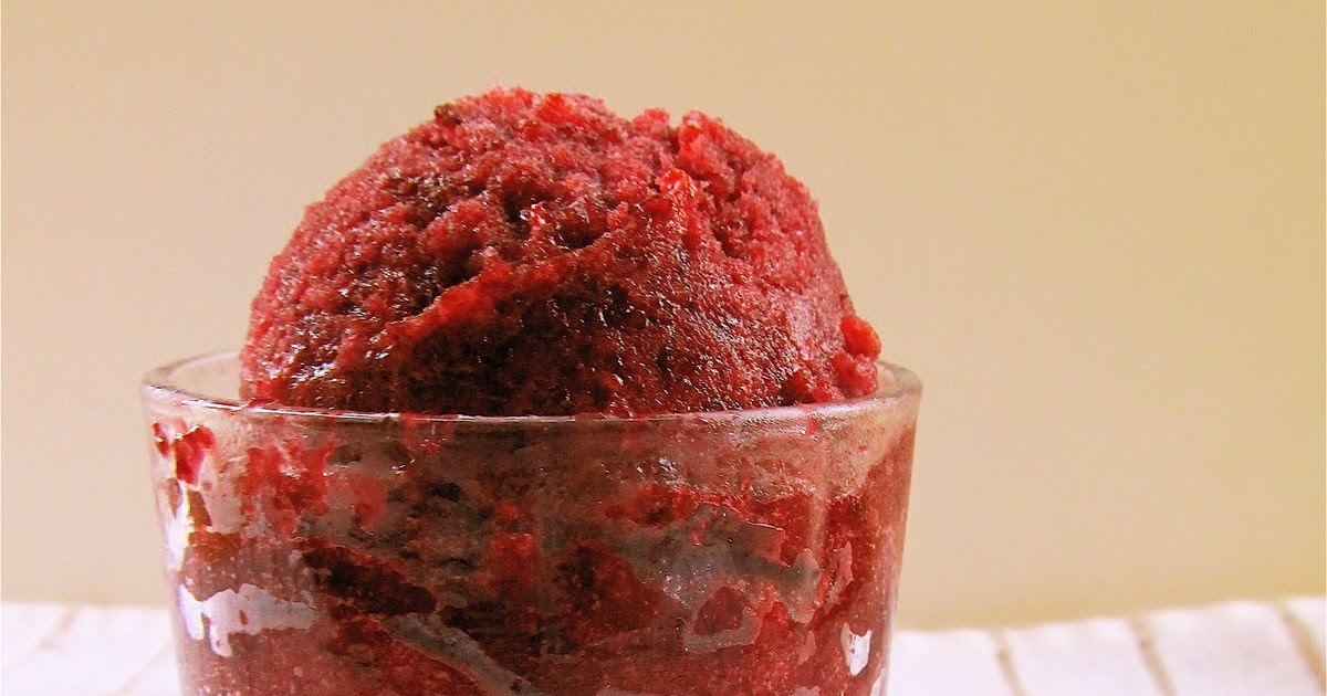 Mary Quite Contrary Bakes: Sweet Cherry Sorbet