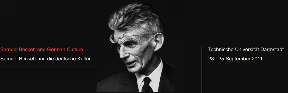 Samuel Beckett and German Culture | Samuel Beckett und die deutsche Kultur