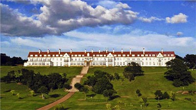 The derelict hotel at Turnberry will become the Best in Europe!