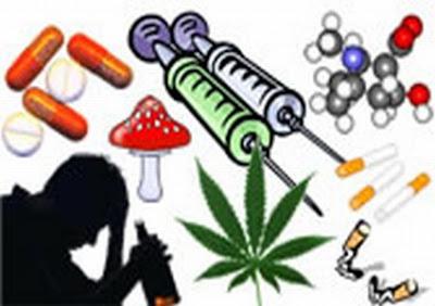 La información sobre el tabaquismo de la narcomanía del alcoholismo