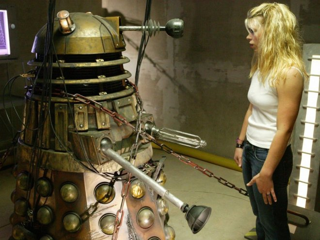 The last Dalek and Rose