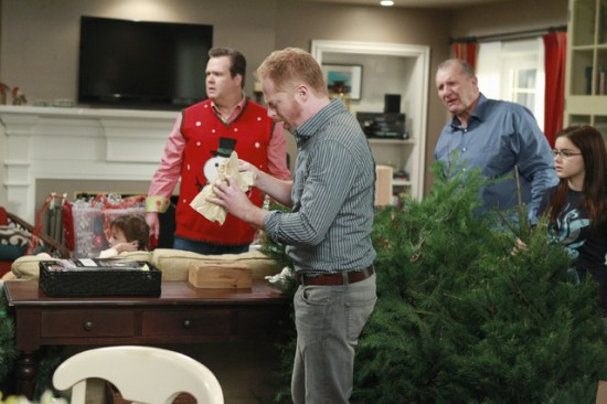 alex and mitch turned out to be carbon copies of one another but not only angered the christmas tree salesman by accusing him - Modern Family Christmas