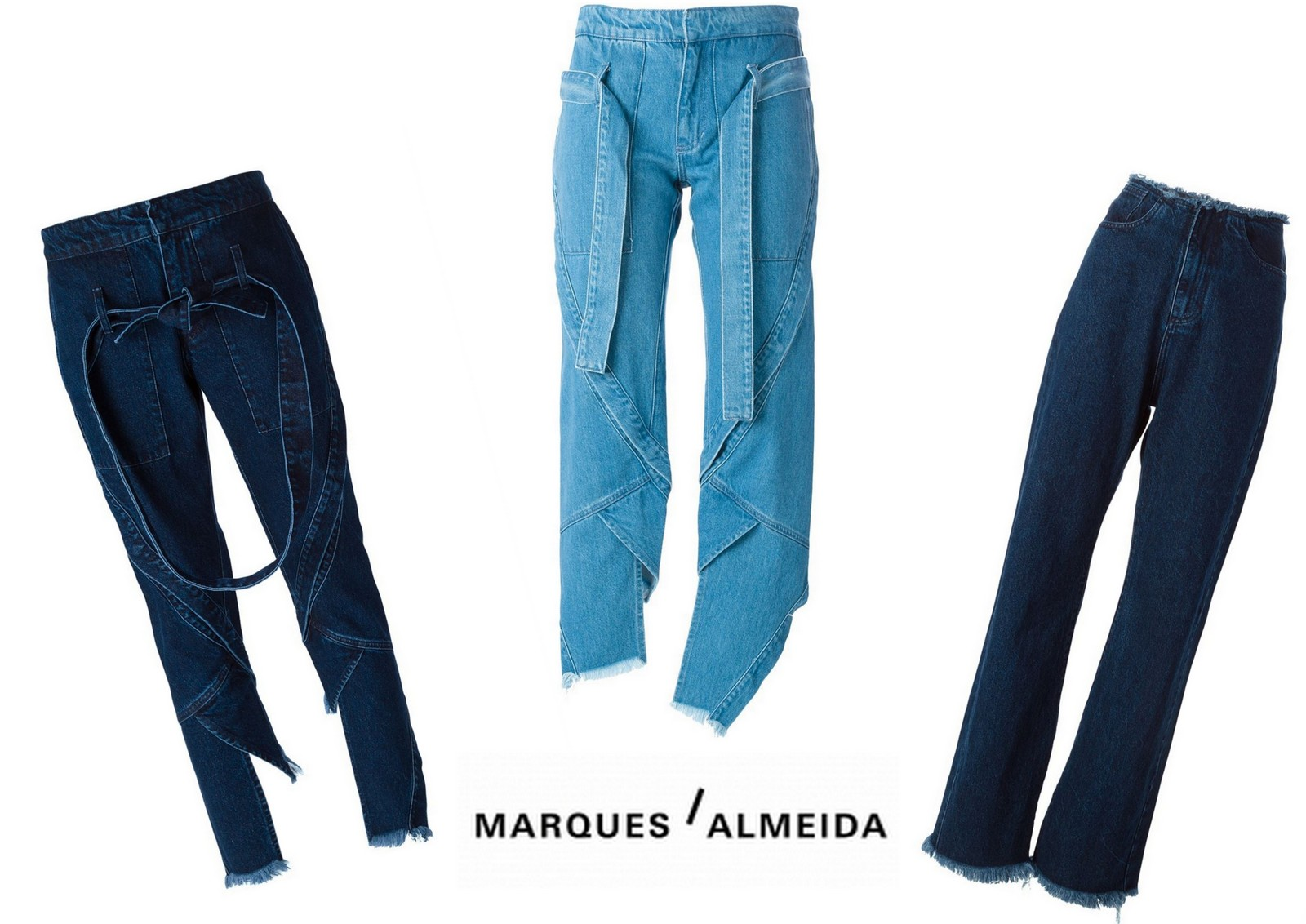 denim, jeans, trend, Zara, osman, each x other, rag & bone, alexa chung for ag jeans, caron callahan, marques almeida,