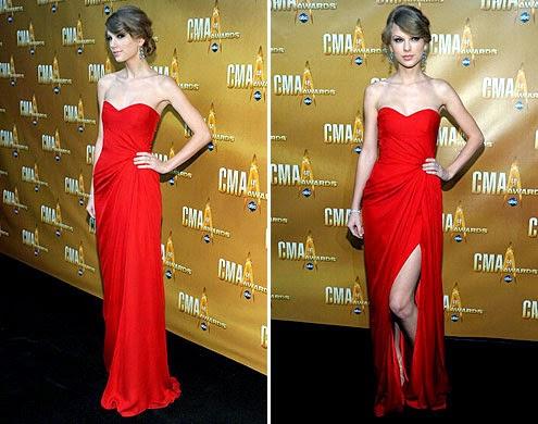 vestido longo com fenda lateral
