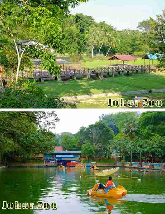 johor baru zoo - water activity