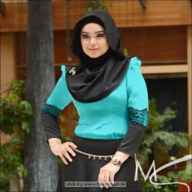 Siti Nurhaliza Jilboobs baju ketat tudung singkat tetek melekat terjojol