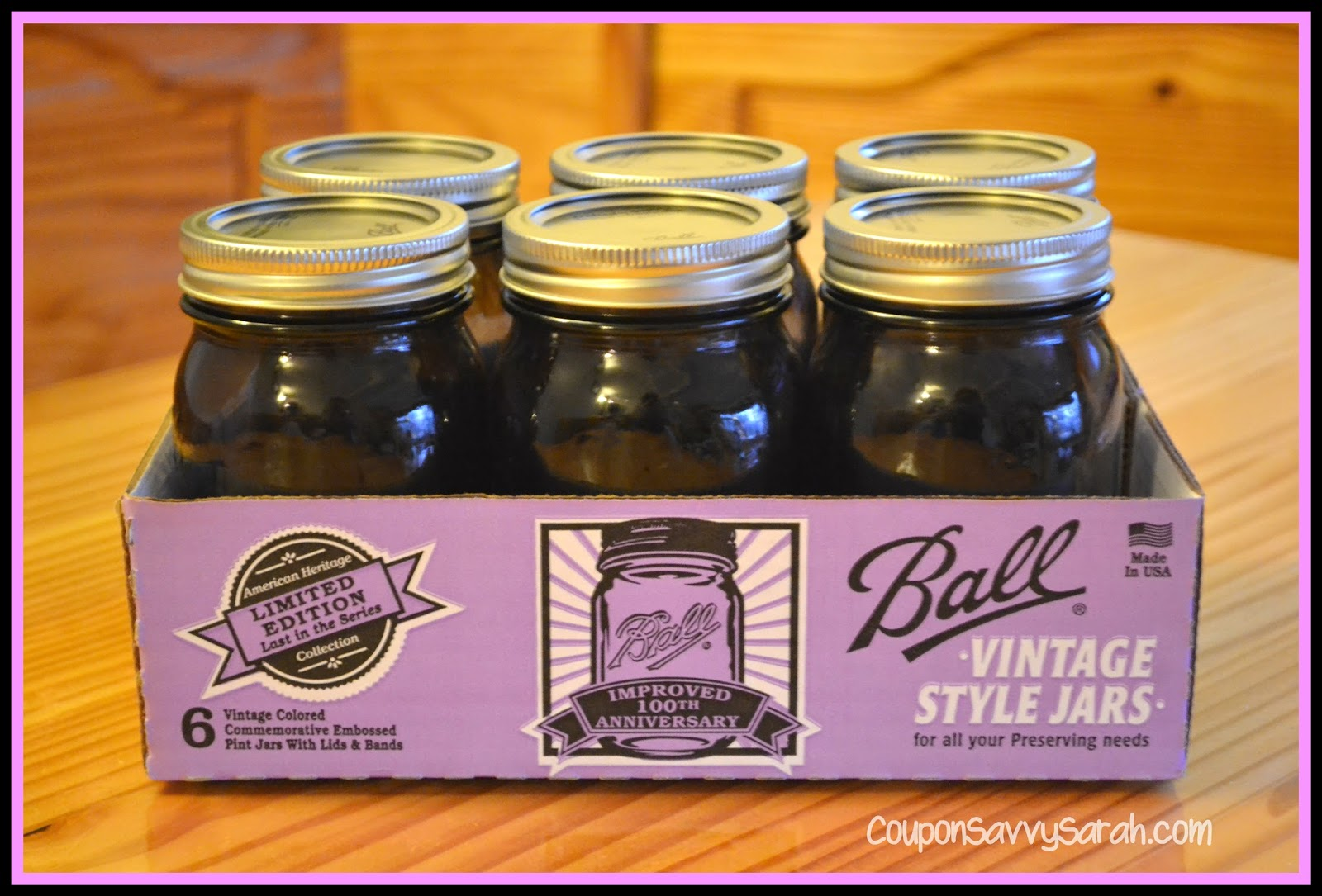 Ball canning jar coupons