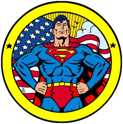 Toppers o Etiquetas para Imprimir Gratis de Superman.