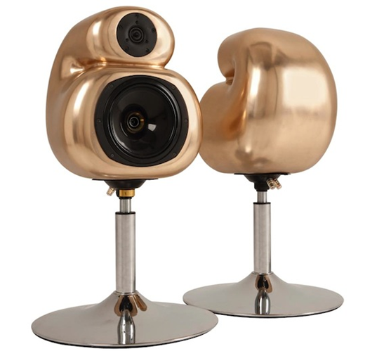 hart audio aural pleasure gold silver and bronze loudspeakers sound system