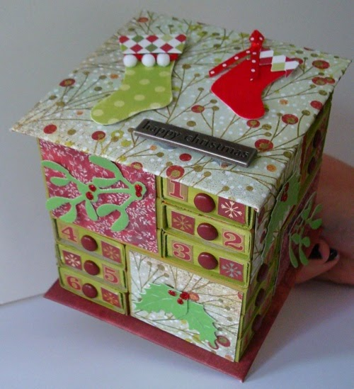 Diy Matchbox Advent Calendar : The messy crafter matchbox advent calendar and instructions