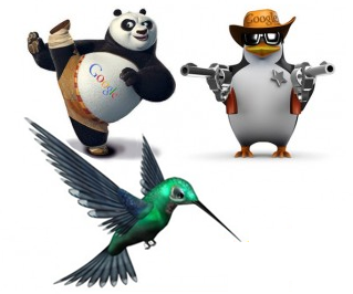 Google Updates Penguin, Panda And Hummingbird