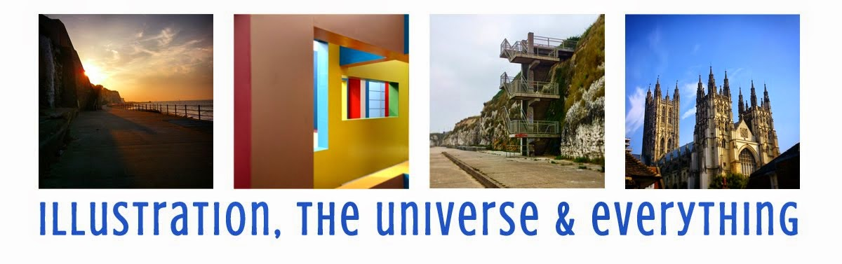 Illustration, The Universe and Everything