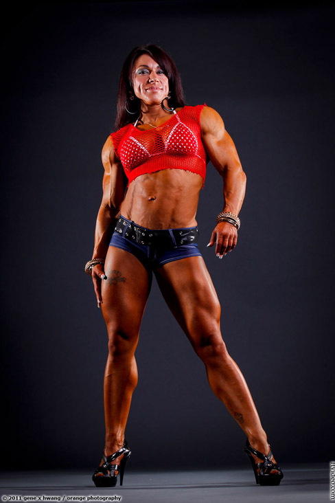 Carla Rossi Female Muscle Bodybuilding Blog FTVideo