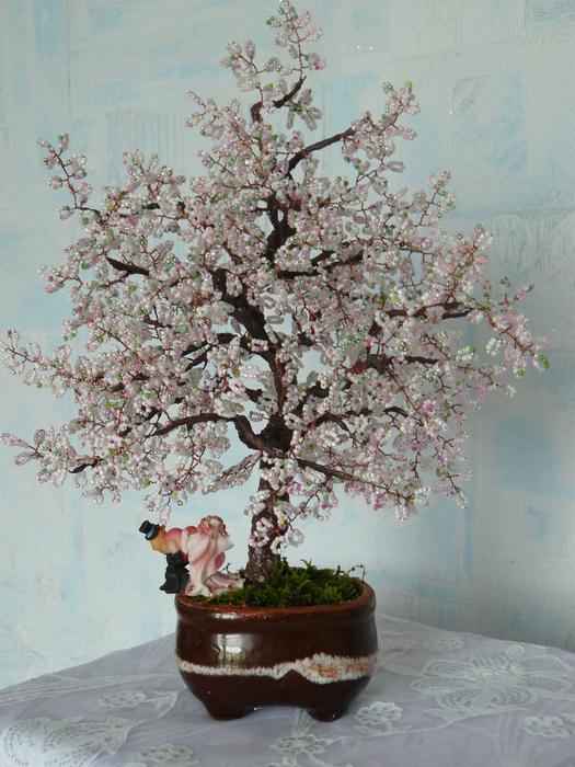 Бисероплетение деревья из бисера - Делаем фенечки своими руками.