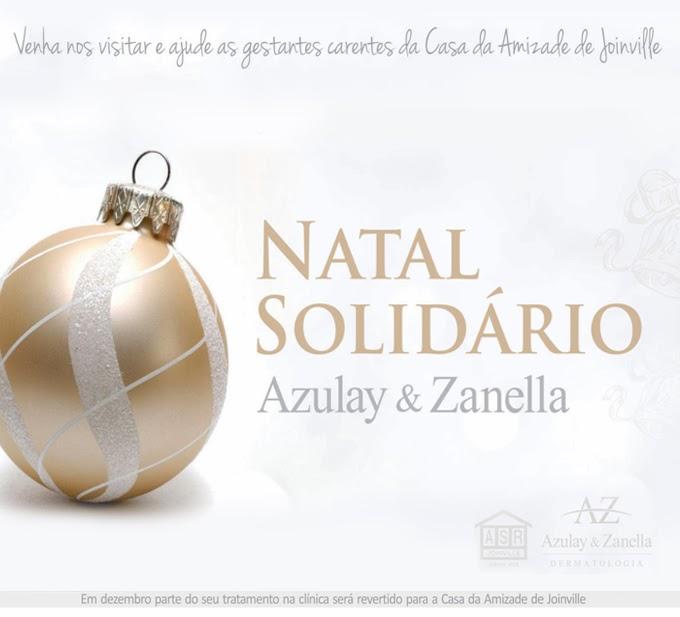 Natal solidário, clínica azulay e zanella