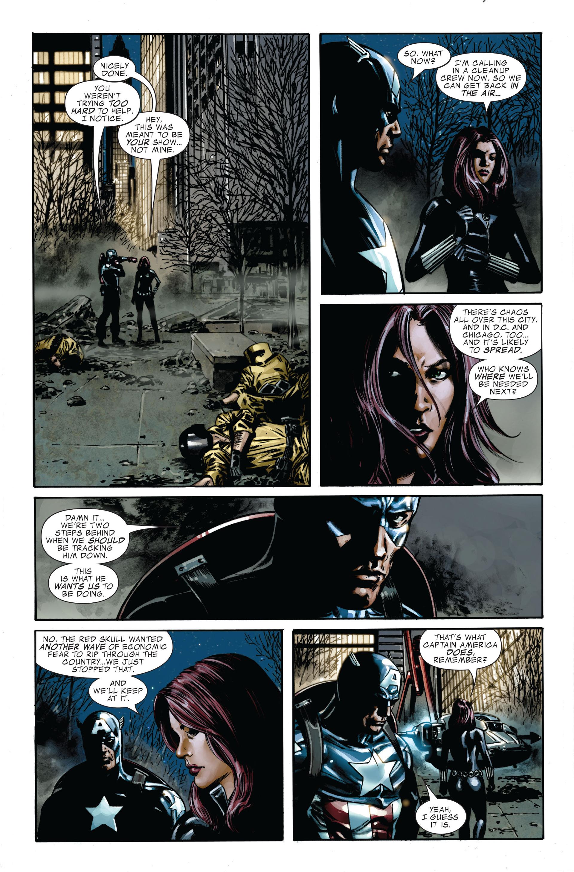 Captain America (2005) Issue #34 #34 - English 20