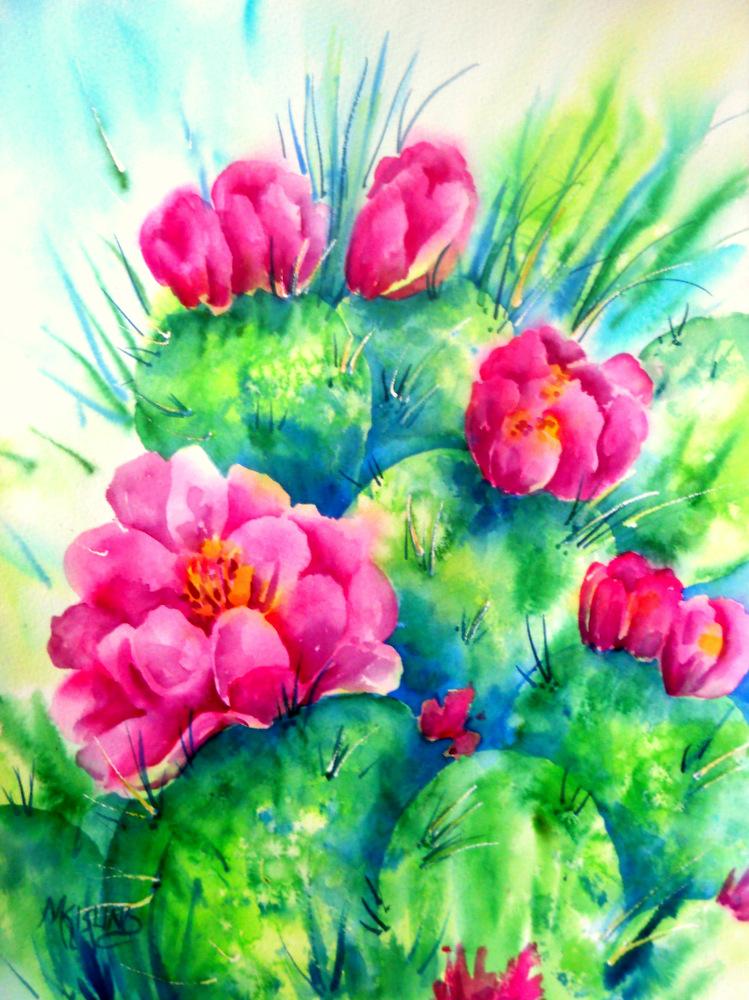 Martha Kisling Art With Heart : CACTUS BEAUTY by Colorado ...