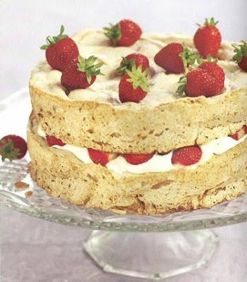 torta de capitas de fresa