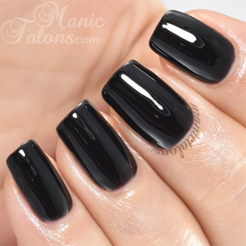 Madam Glam One Step Black is the One Swatch