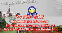 YVUCET Results 2014 - www.yogivemanauniversity.ac.in