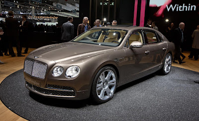 2014 Bentley Flying Spur Release Photos