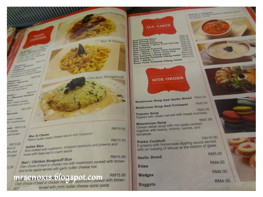 Port Cafe Menu Bangi