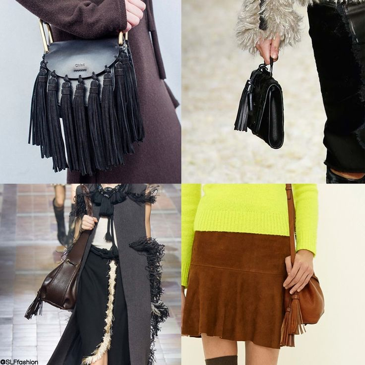 1979's Retro Tassel Bags ft. Chloé, Tom Ford, Lanvin and Ralph Lauren (AW15) | Source: SLF Fashion