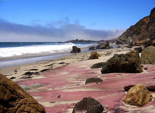 Purple Sand Beach
